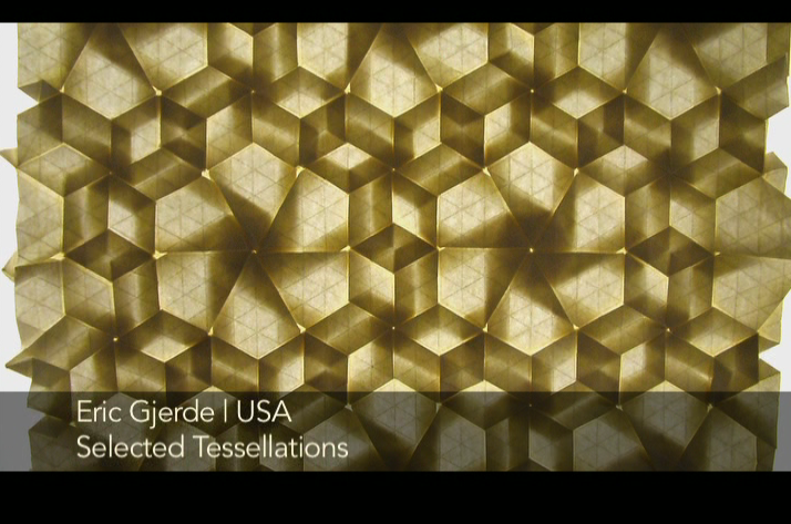 folded tessellation from Between the Folds movie