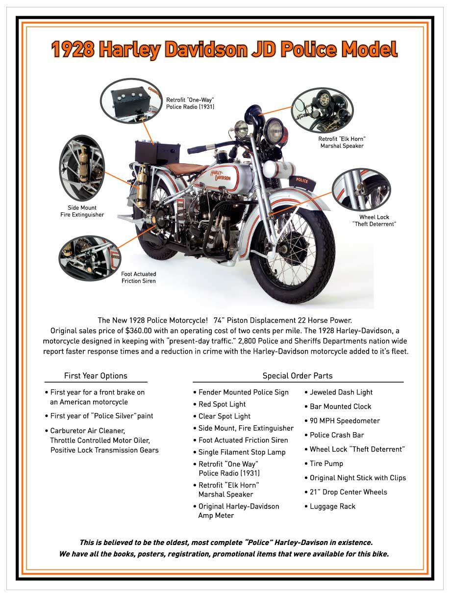 Pin by Rick James on Brian's JD Harley Davidson Police Model