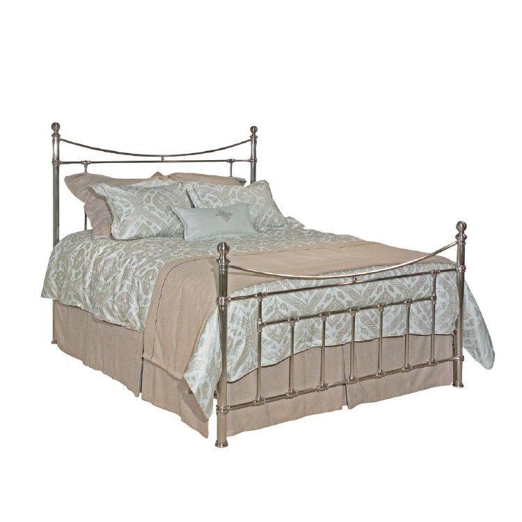 American journal metal bed by kincaid furniture silver for Kincaid american journal bedroom furniture