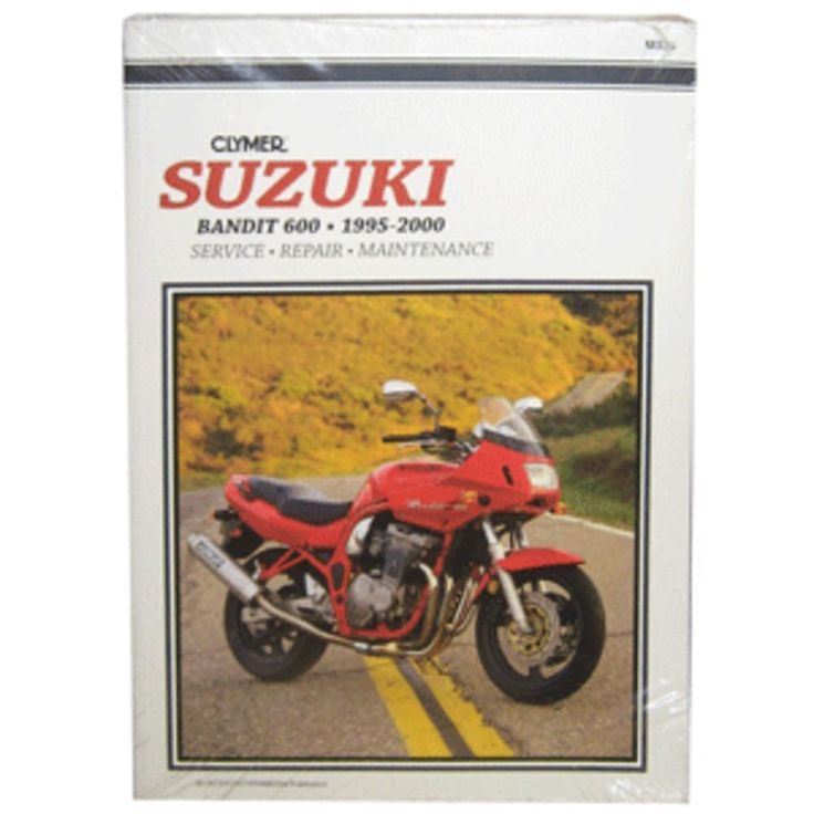 Awesome suzuki 2017 clymer suzuki bandit 600 1995 2000 check suzuki bandit motorcycle repair manuals are written specifically for the do it yourself enthusiast from basic maintenance to troubleshooti solutioingenieria Images
