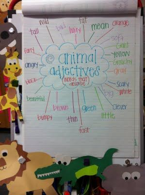 adjectives to describe a zoo