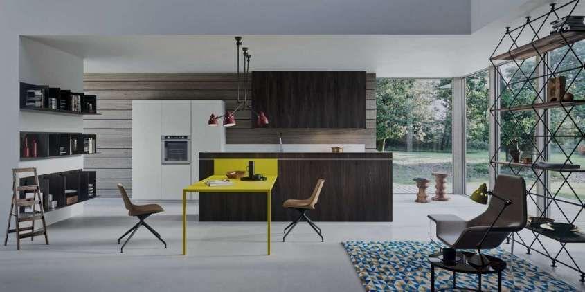 Cucine moderne in legno 2017 - Cucina Copat