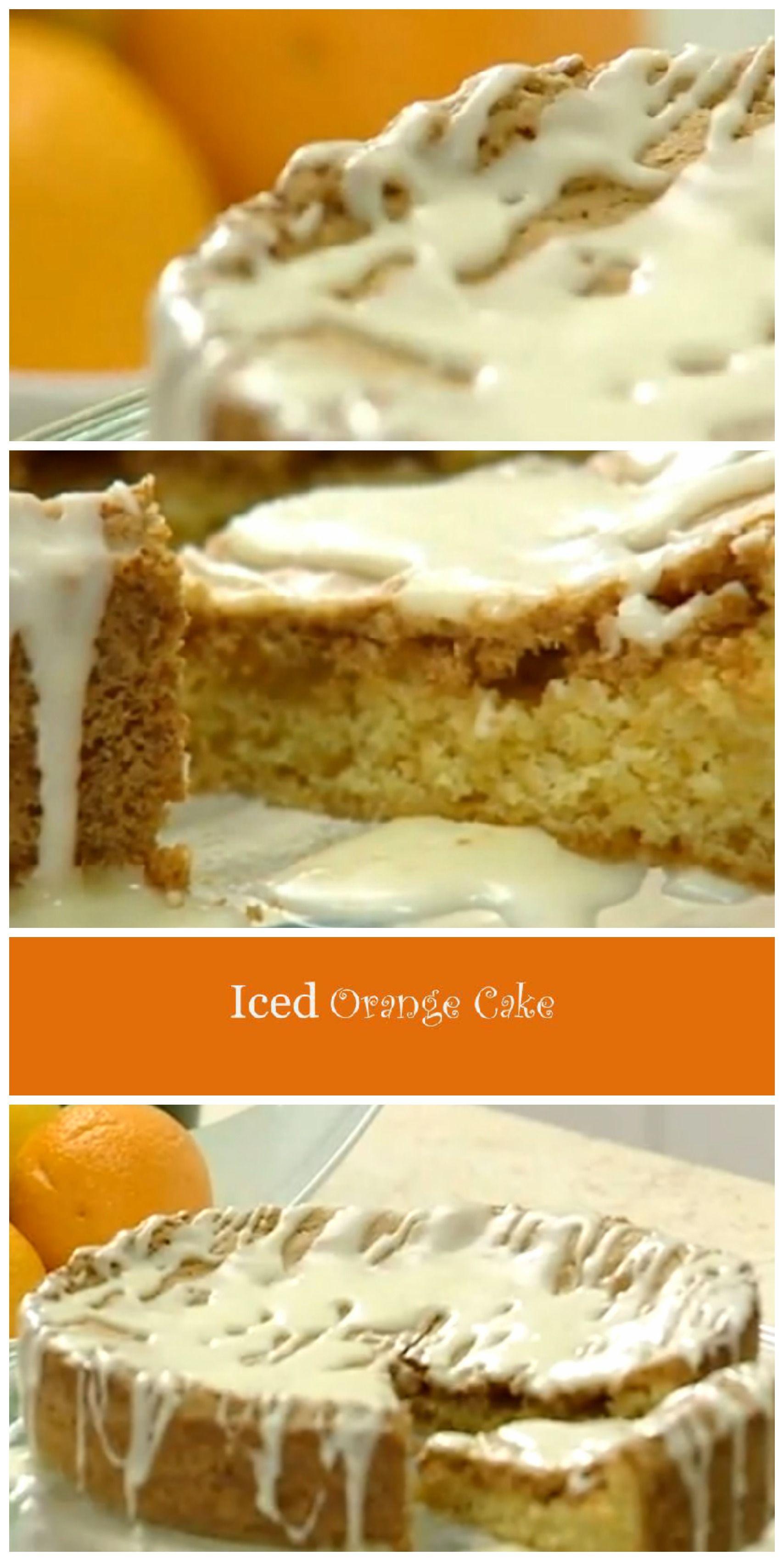 Orange cake recipe video