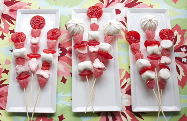 Ideas para san valent n brochetas de chucher as bonbon - Ideas para sanvalentin ...