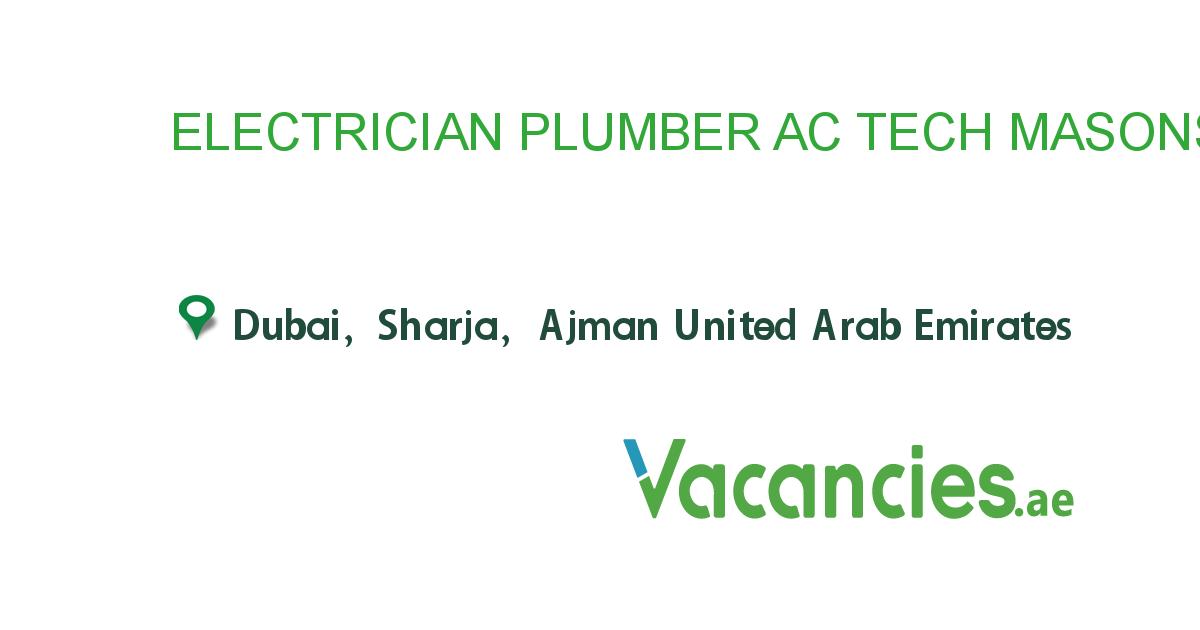 Electrician Plumber Ac Tech Masons Carpenter Helper With Images Helper Jobs Plumber Electrician