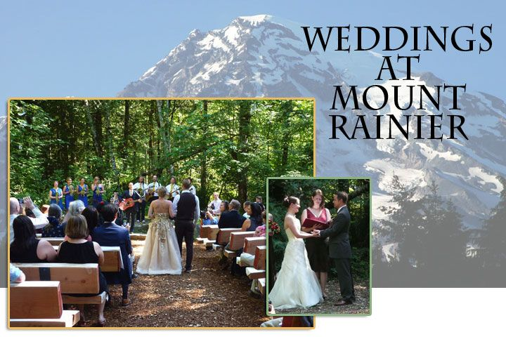 Weddings at mount rainier copper creek inn wedding vendors weddings at mount rainier wedding receptions family reunions retreats in washington state junglespirit Gallery