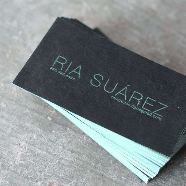 DARK MINIMALIST CALLING CARD Liike Pinterest Business cards - letterpress business card