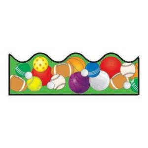 free sports balls scrapbook backgrounds google search rh pinterest com free sports themed border clip art