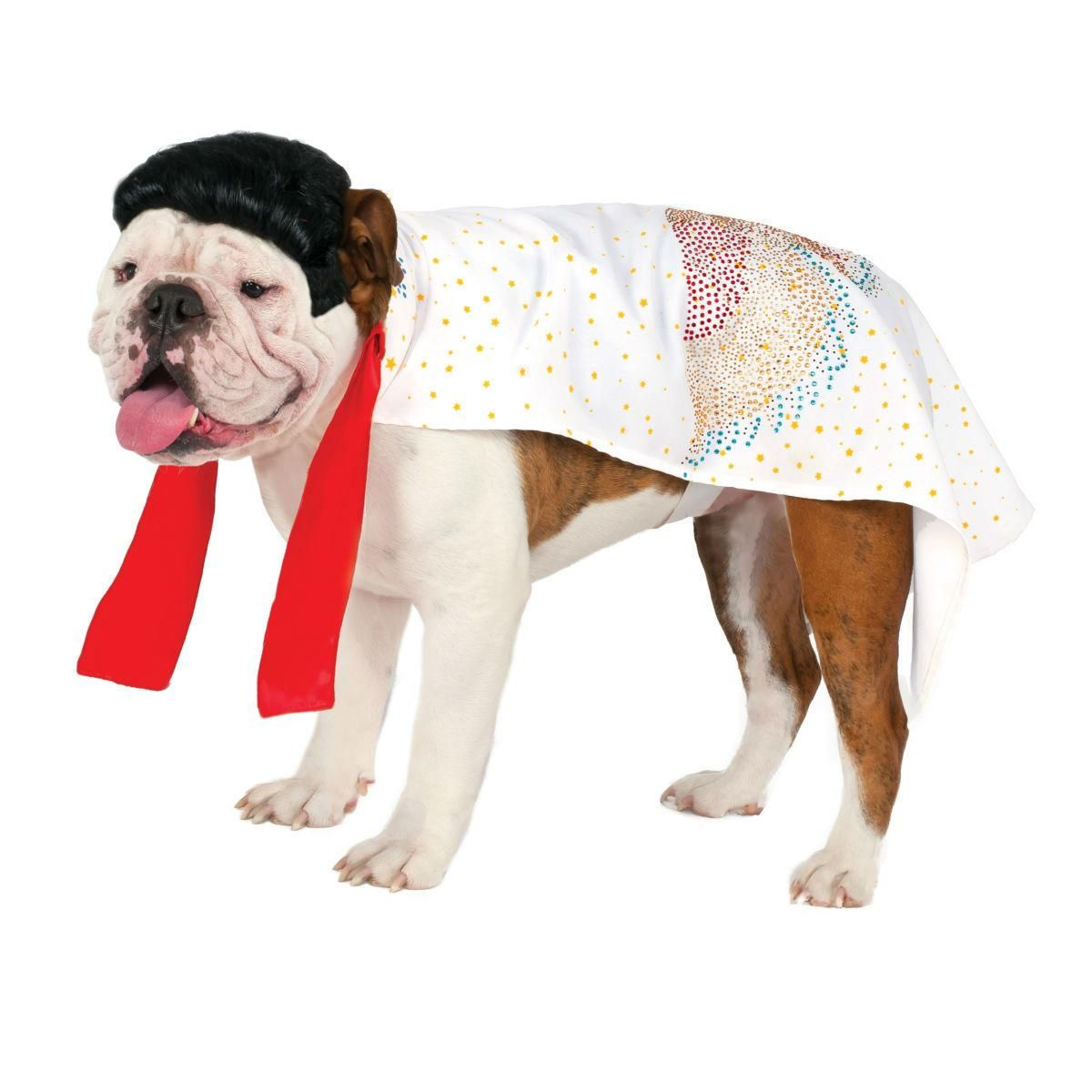Elvis Cape Dog Costume By Rubies At Baxterboo Com Pet Costumes