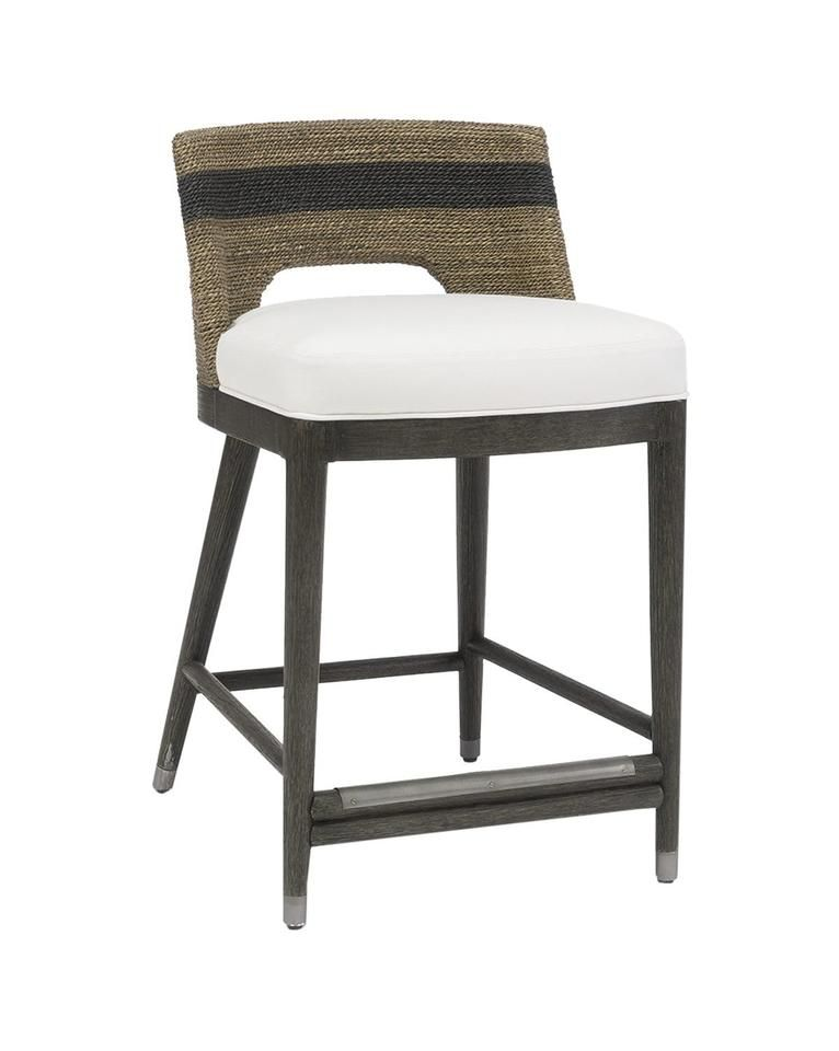Awe Inspiring Frankie Counter Stool Natural Black Malibu Hamptons Caraccident5 Cool Chair Designs And Ideas Caraccident5Info