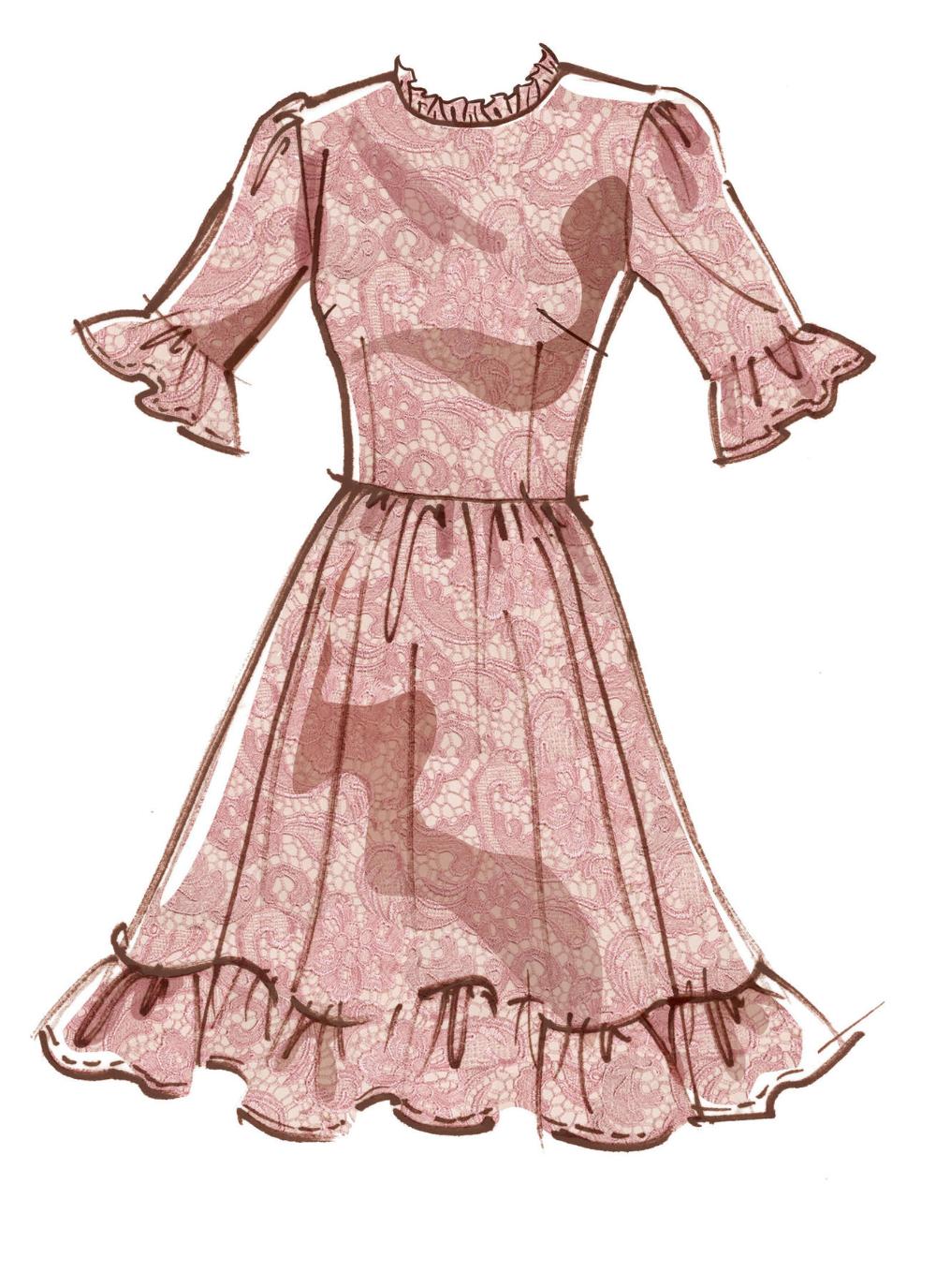 M8032 M8032   #BlytheMcCalls - Misses' Dresses   M