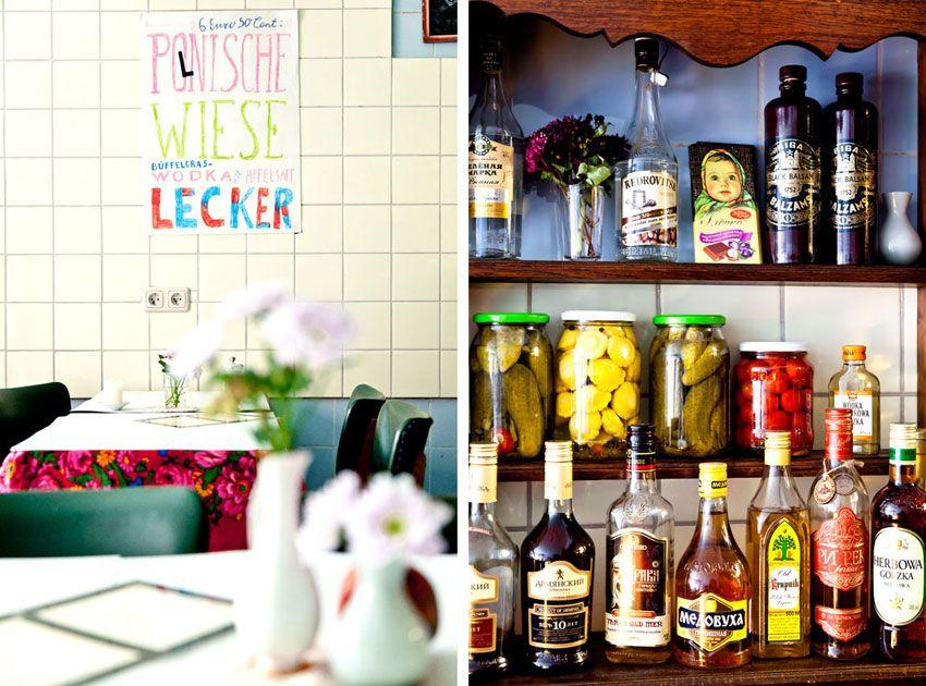 Kuchnia Osteuropäische Küche und Wodkabar Hamburg Pinterest - hamburger küche restaurant