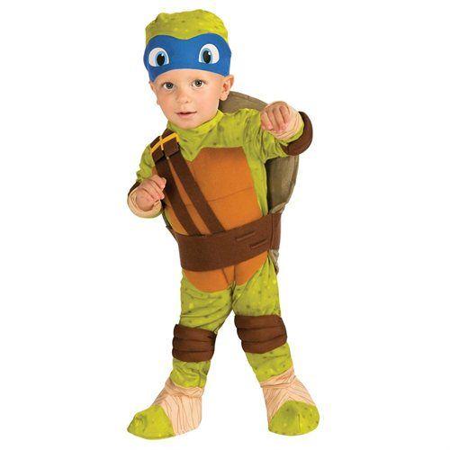 LEONARDO NINJA TURTLE MUSCLE CHILD COSTUME Halloween Cosplay Fancy Dress B8