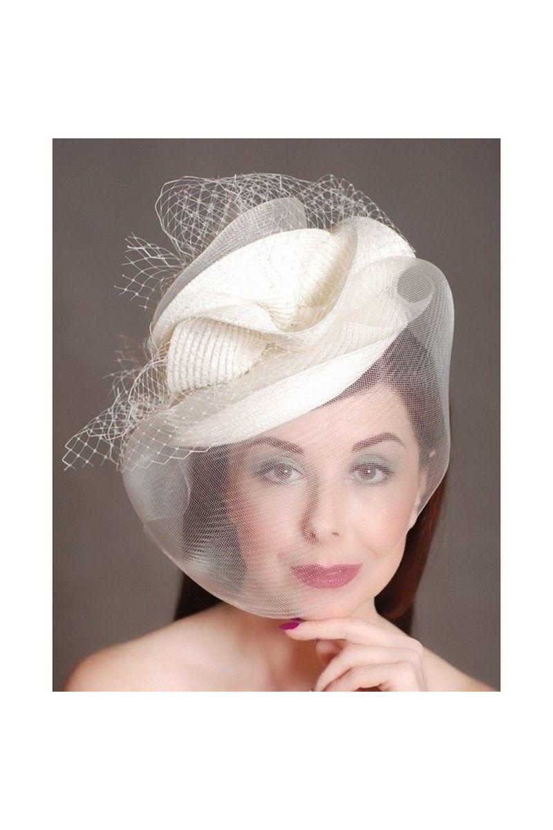White Retro Womens Hat Mesh Bridal Face Veil Feather Hat Wedding Bridal Face Veil Hats For Women Veil