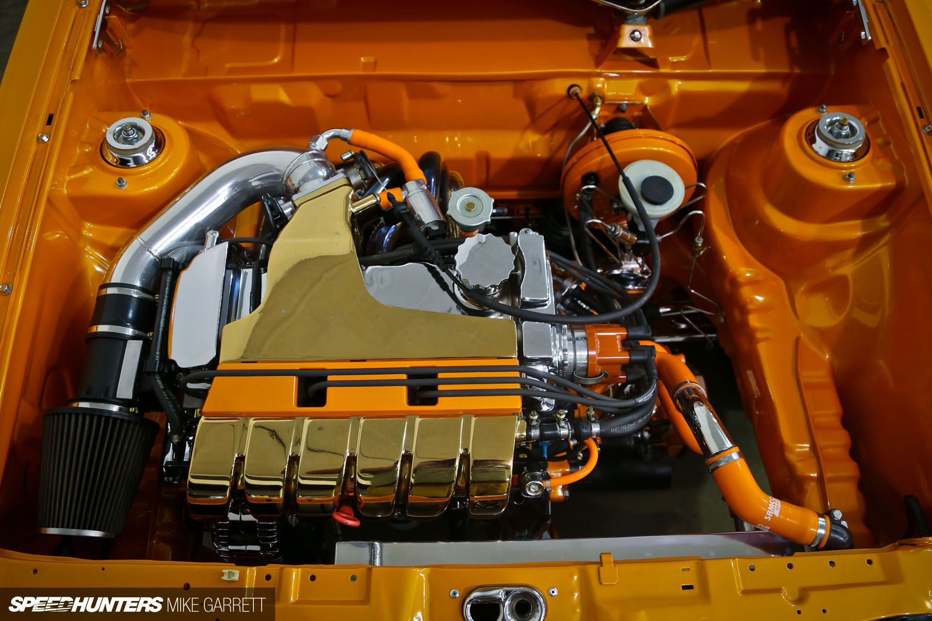 a lesson in cleanliness engine, vw and volkswagen subaru wire tuck the engine bay is immaculately detailed with a full wire tuck, and is home to a 3 0 liter vr6 swap mated to a 5 speed transmission with a quaife