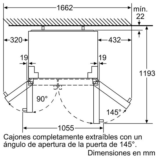 Frigorífico Americano SIEMENS KA90NVI30 NoFrost Inox 1.77m