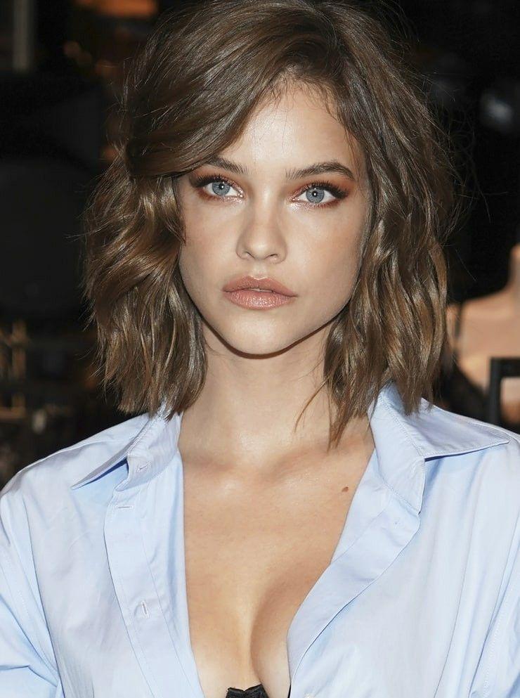 Barbara Palvin Victoria Beckham Short Hair Short Brunette Hair Hairstyle
