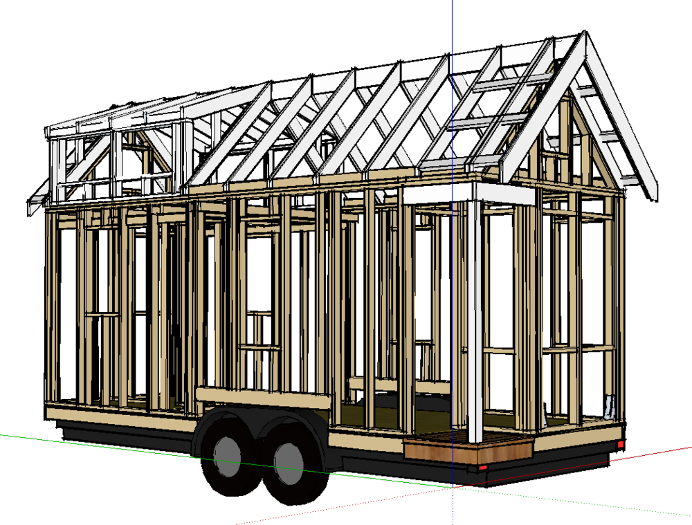 Merveilleux After Several Requests, Iu0027ve Agreed To Release A Basic Tiny House Framing  SketchUp Model To A Few Colleges And High Schools. I Donu0027t See Why  Followers Of ...