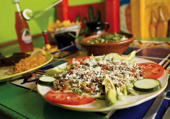 Cactus Salad From Los Toribio Mexican Restaurant In Henderson Ky