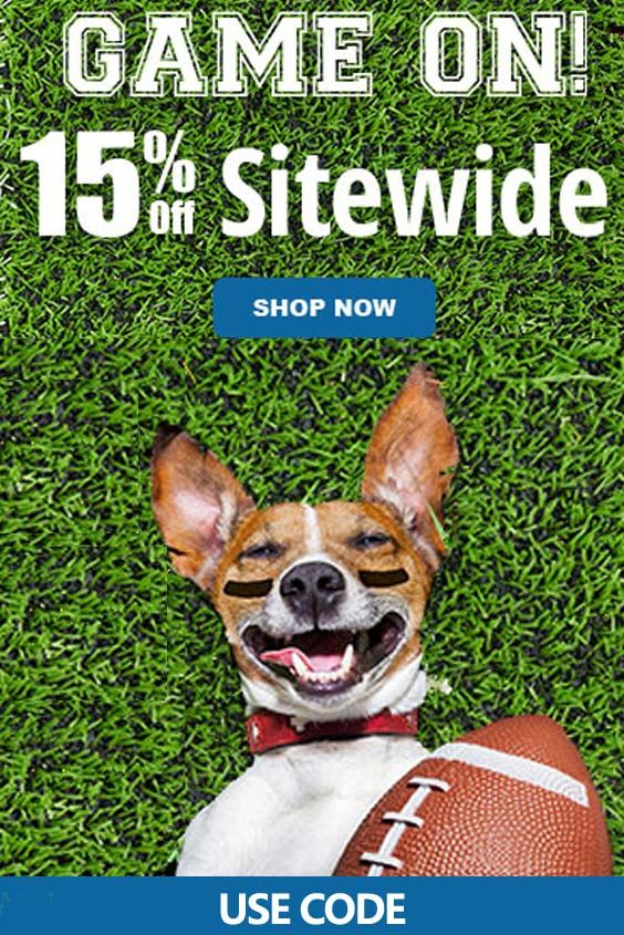 Entirely Pets is offering Game On 15 discount on