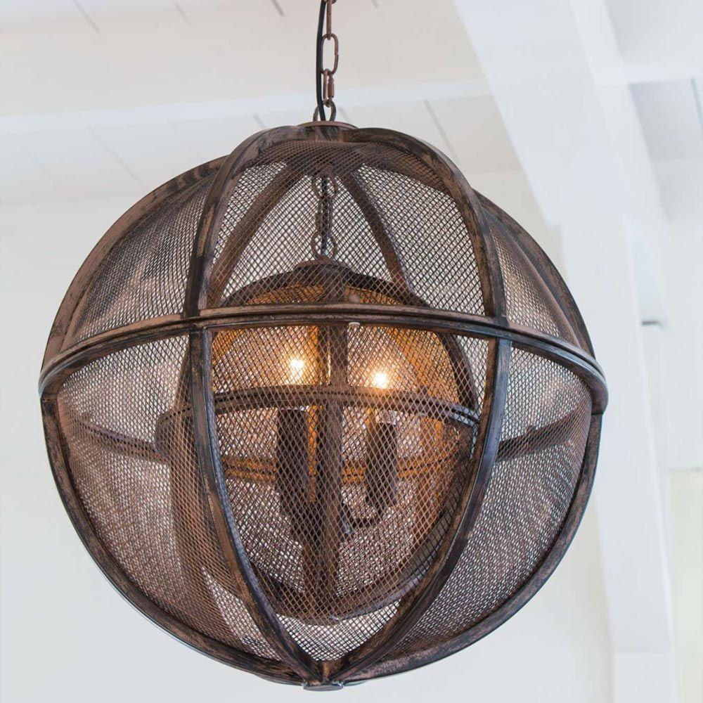 Metal Orb Pendant Light CL-33793 | Pendant lighting and Wireframe