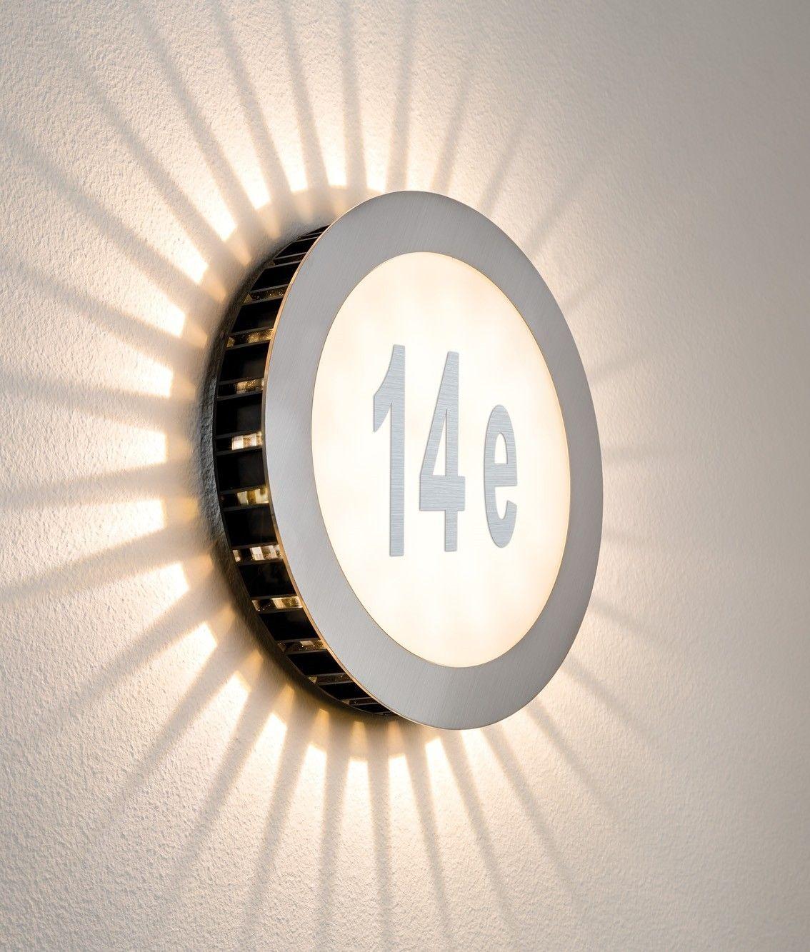 LED House Number Bulkhead Lighting Pinterest