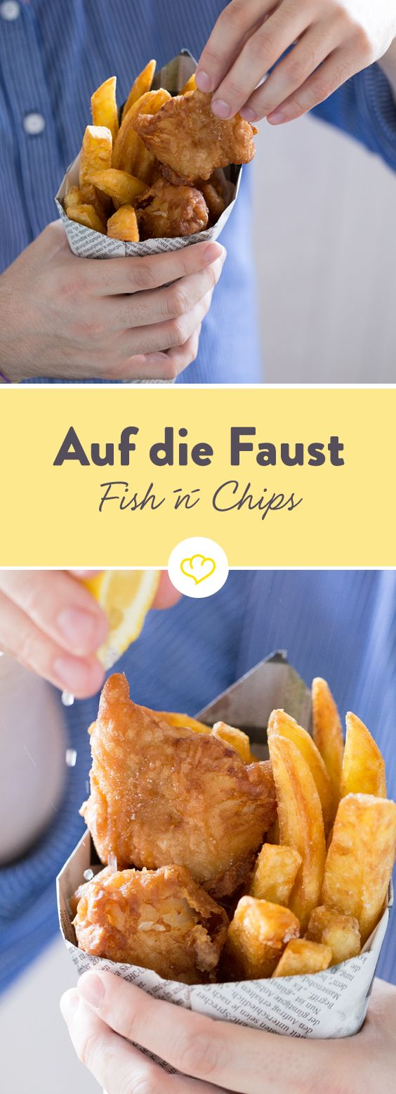 Auf die Faust – Southampton Fish 'n' Chips #kartoffeleckenbackofen