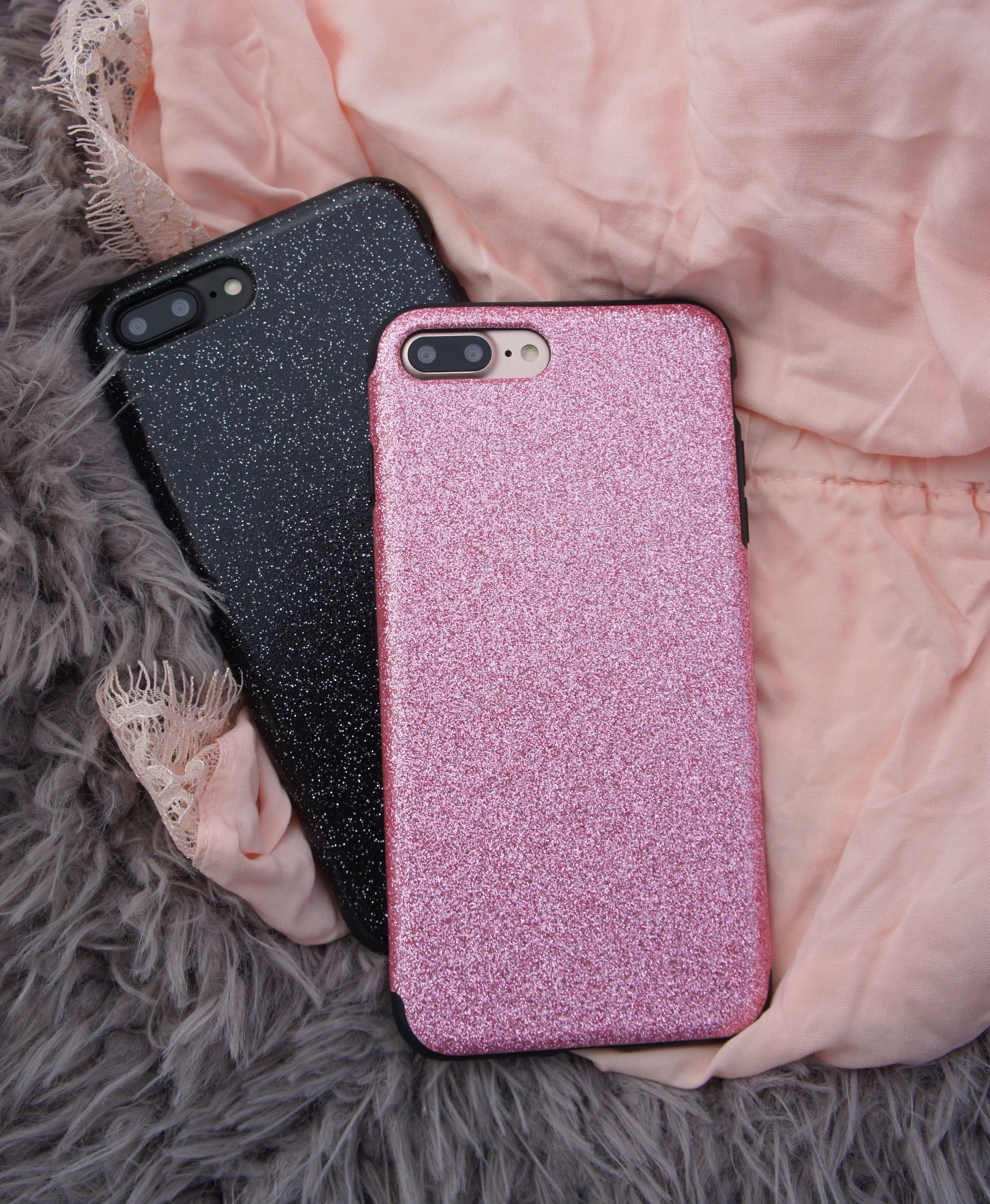 That nighttime Glam ✨ Glam Case in Black & Pink for iPhone 7 & iPhone 7 Plus from Elemental Cases