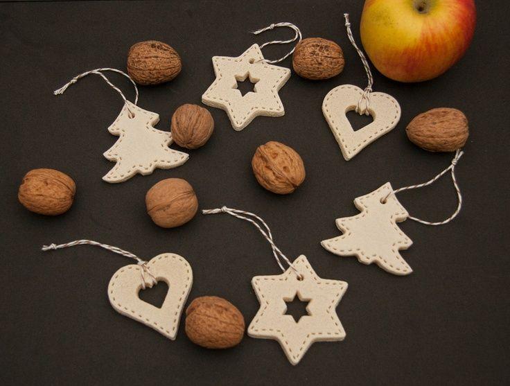 Basteln salzteig weihnachten dansenfeesten - Weihnachtsschmuck selber basteln mit kindern ...