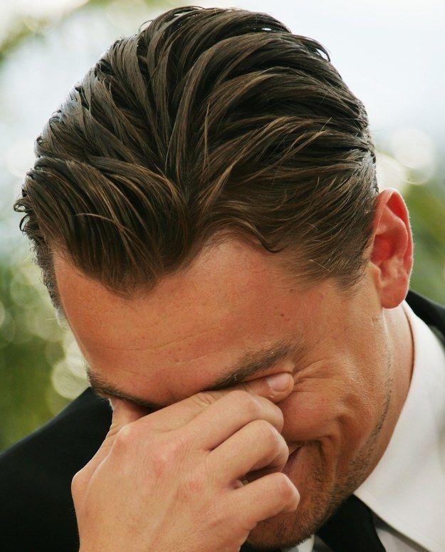 23 Photos Of Leonardo DiCaprio That Will Restore Your Faith In Hair Gel