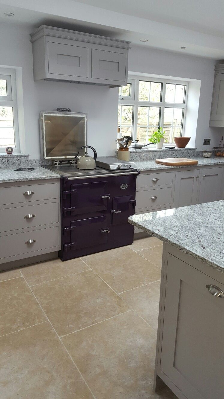 Everhot 900i Cooker Installed In A Beautiful Bespoke Kitchen Scandi Kitchen Kitchen Shaker Kitchen