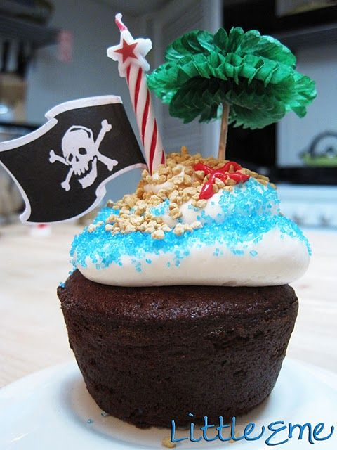 Pirate party : Cupcake