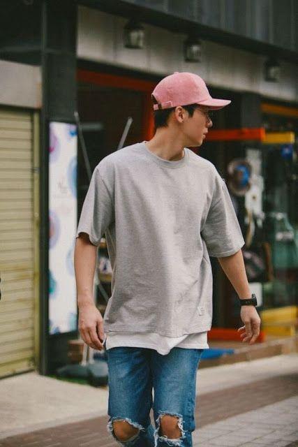 Peças em Tons de Rosa no Visual Masculino boné masculino rosa (14) 36d40aef1ac