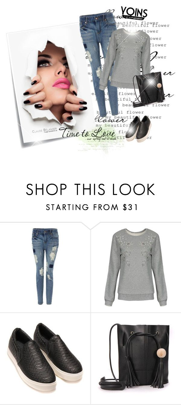 """YOINS 45"" by irma-bojic ❤ liked on Polyvore featuring Post-It and vintage"