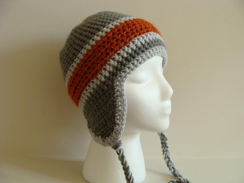 crochet earflap hat pattern - Google Search
