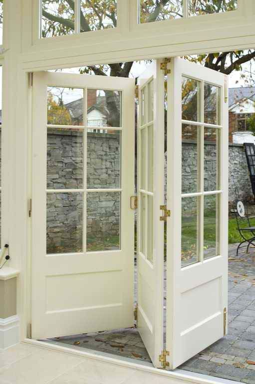 Triple French Doors Accordion Style Healthy Home And Kitchen Folding French Doors French Doors New Homes