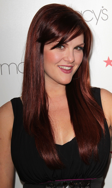 Sara Rue Dark Auburn Dark Auburn Hair Hair Color Auburn