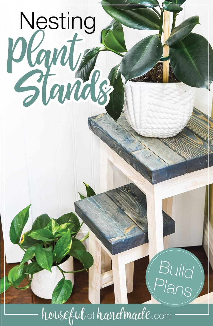 Nesting Plant Stands Build Plans Plant Stand Plant Table Small Plant Stand