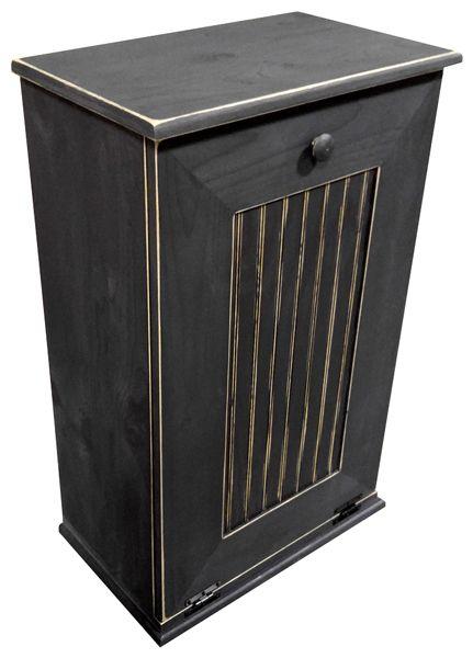 Trashcans Unlimited - Large Kitchen Tilt Out Wood Trash Can Handmade ...