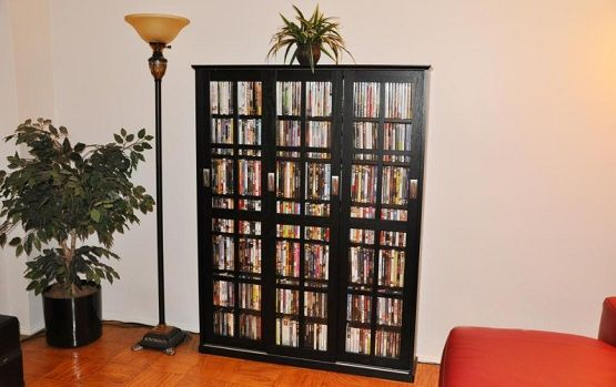 Dvd Storage Cabinet With Doors 3 Sliding Glass Door For The Home