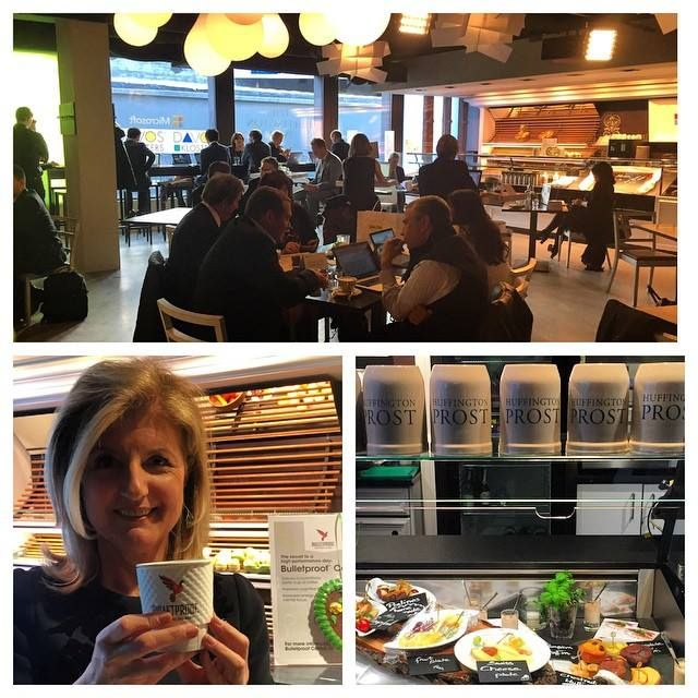 The Microsoft Huffpost Cafe At The Vision Center In Davos Which Bustled With Everyone From Thomas Friedma Bulletproof Coffee World Economic Forum Bulletproof