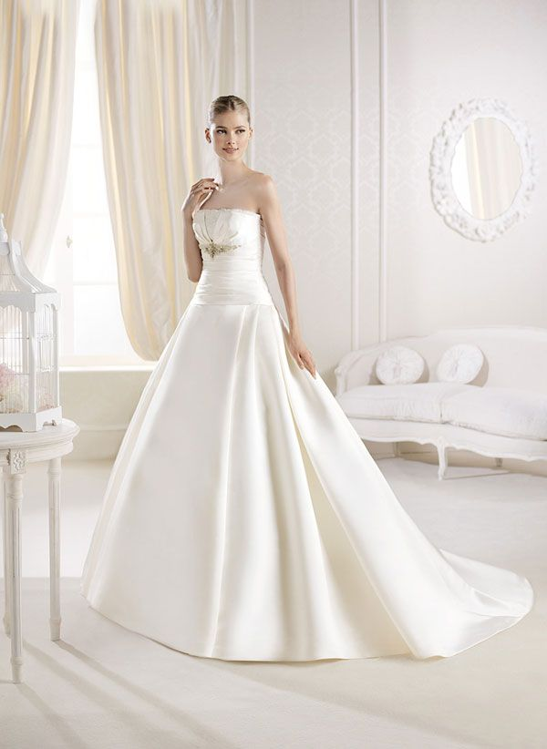 vestidos de novia de la sposa 2014 #boda #vestidos | vestidos de