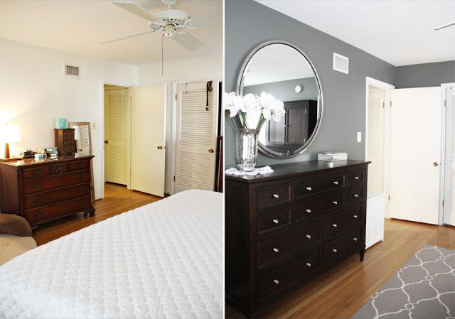 grey walls with our black hemnes bedroom set | master bedroom ...
