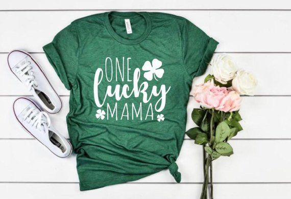 0a0227d8 St. Patrick's Day Maternity Shirt | One lucky mama, Extra lucky this year,