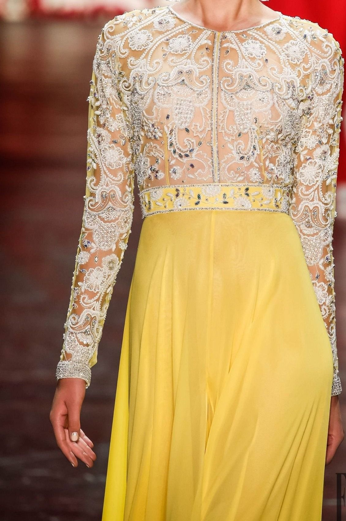 "forlikeminded: "" Naeem Khan - New York Fashion Week   Spring Summer 2016 """