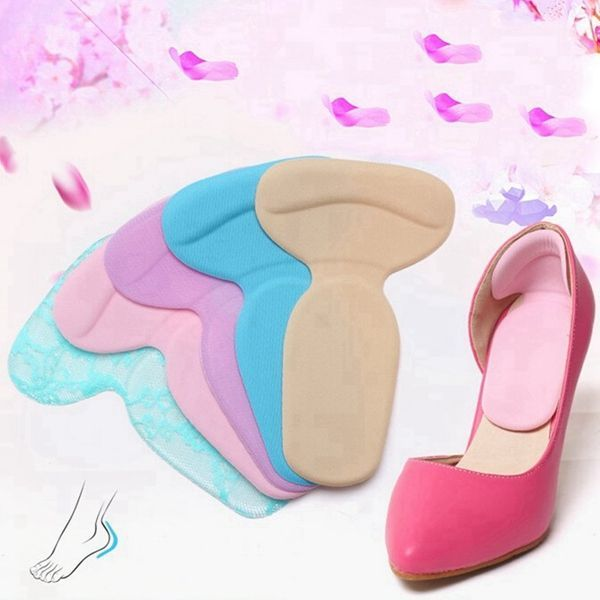 ec31991591 Soft Silicone High Heel Cushion Shoe Insert Dance Insole Pads .Foot Care.