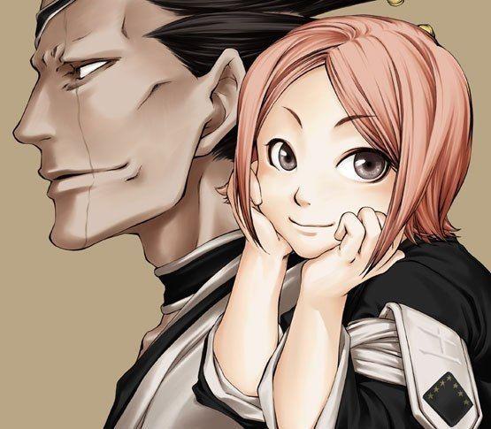 Kenpachi and Yachiru