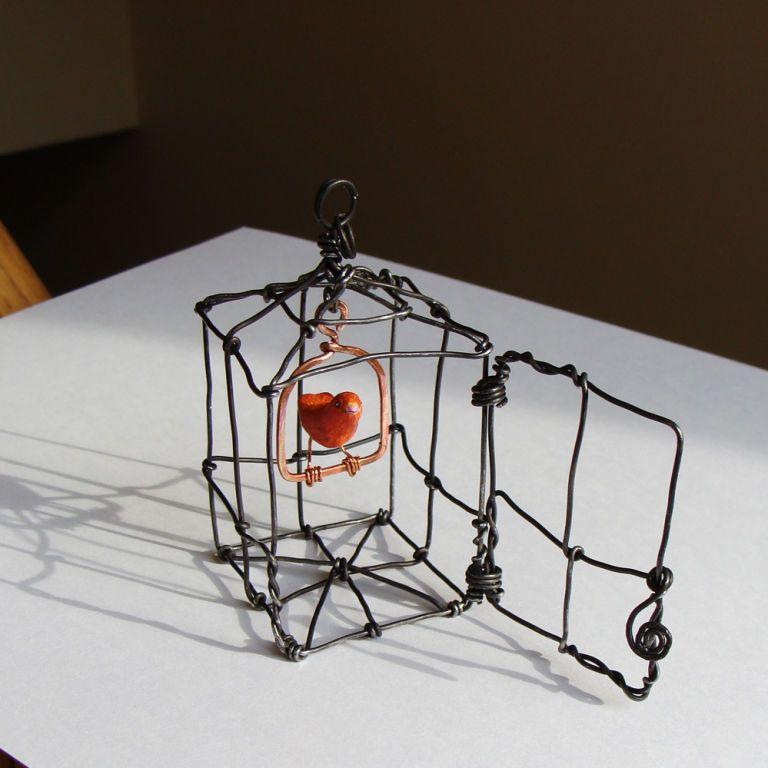 Ruth Jensen El alambre convertido en Arte | Handarbeiten
