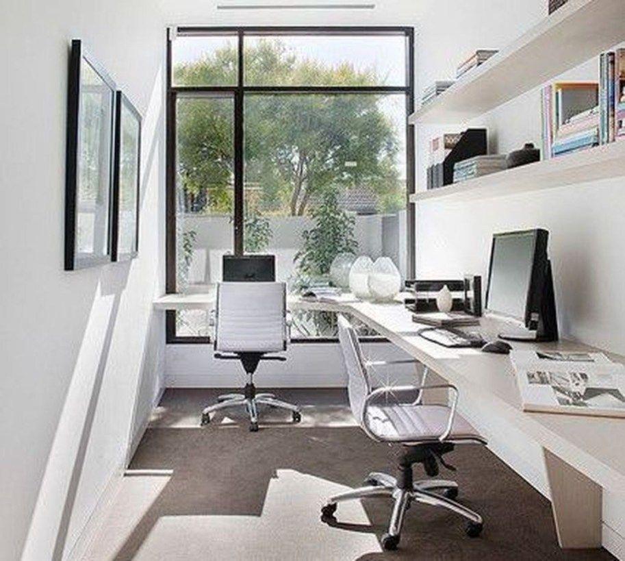 Simple Workspace Office Design Ideas 30 Modern Home Office Office Design Home Office Design