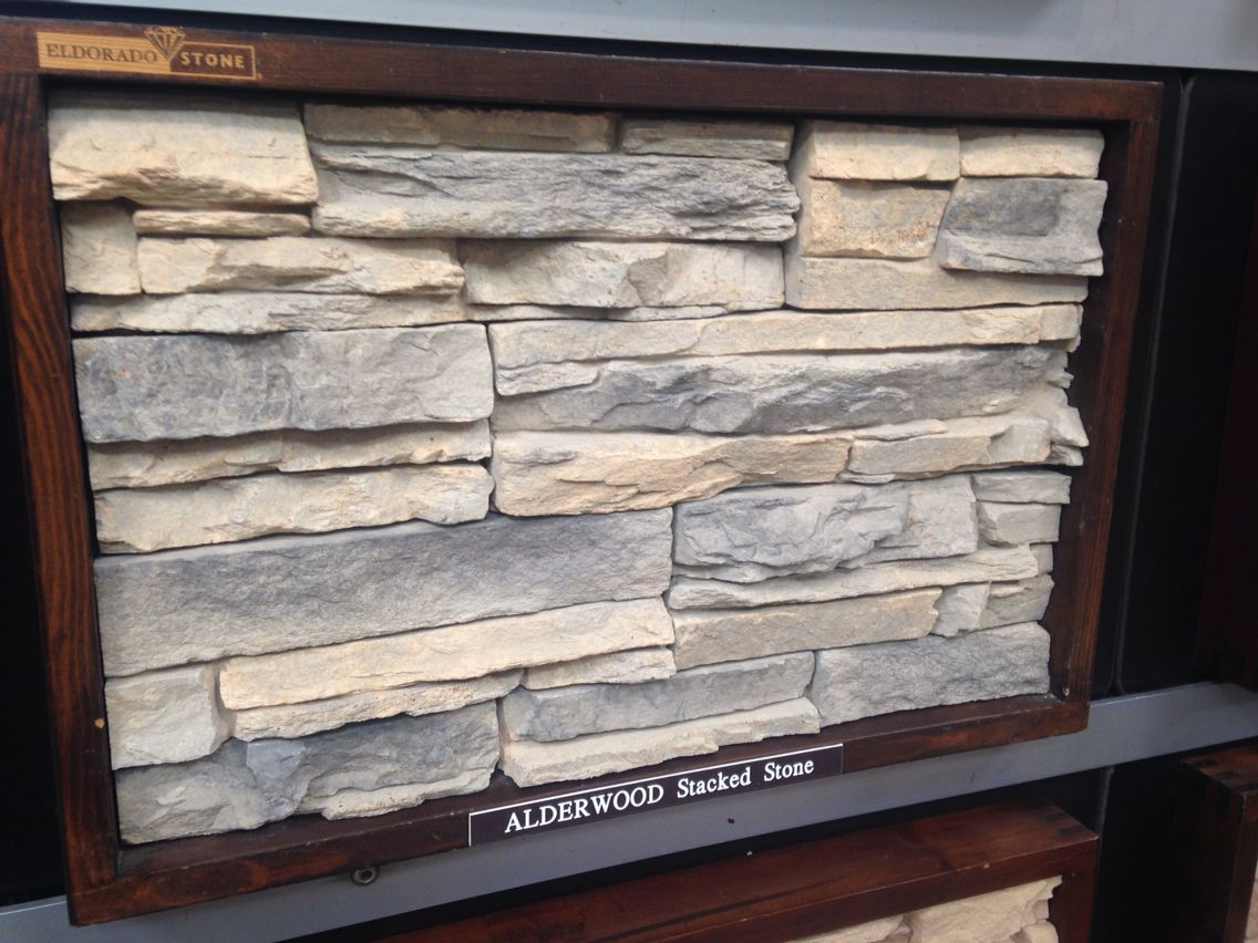 El Dorado Stacked Stone Alderwood Color Curb Appeal